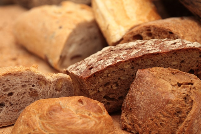 bakery bread to show that there are gluten free options