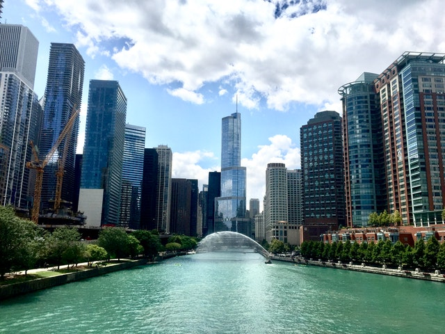 A picture of Chicago to show where the gluten free bakeries in Chicago are here