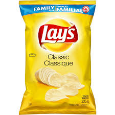 Picture of lays chips to denote the question are lays chips gluten free?