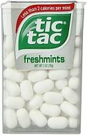 A picture of Tic Tacs to highlight the question of are Tic Tacs gluten free.