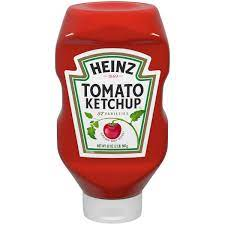 Picture of Heinz ketchup to highlight the question, is Heinz ketchup gluten free?