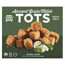 A picture of Millet Tots to highlight the question if they are gluten free.