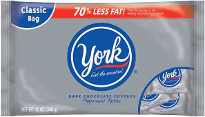 Picture of York Peppermint Patties to highlight the question are York Peppermint Patties are gluten free?